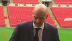 Фергюсон ФИФА президентлигига Инфантино номзодини қўллаб-қувватлади