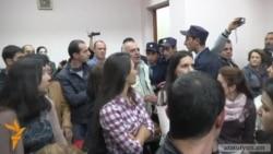 Շանթ Հարությունյանի և նրա համախոհների գործով դատավճռի հրապարակումը