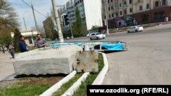 В Ташкенте за одну ночь демонтировали сотни рекламных баннеров.