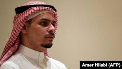 Սաուդյան Արաբիա - Սպանված լրագրող Ջամալ Խաշոգջիի որդին՝ Սահալը, Ջեդդա, նոյեմբերի, 2018թ.