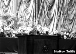 Выступление Иосифа Сталина на предвыборном собрании в Большом театре Союза ССР (1946 год)