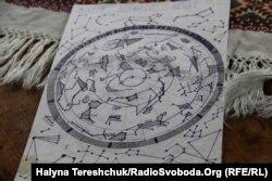 В «Лефортово» Андрей Опрыско нарисовал карту звездного неба