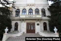 Clădirea Conservatorului, unde la 2 decembrie 1917 a fost proclamată Republica Democratică Moldovenească (str. A. Mateevici 87)