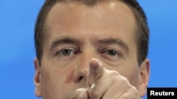 Russian President Dmitry Medvedev is unhappy that presidential orders are not being carried out.