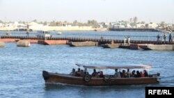 الزوارق النهرية في الشط العرب