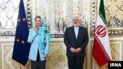 Zarif dhe Mogherini në Tehran