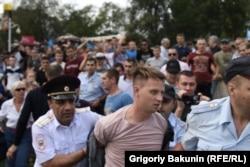 Задержание координатора ростовского штаба Навального