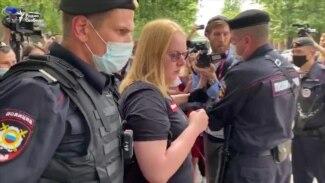 Задержания на акции в поддержку Сафронова