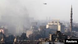 تصویری از قاهره، پایتخت مصر در جریان ناآرامیهای اخیر