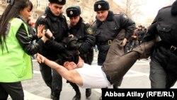 دستگیری تظاهرات کنندگان در باکو