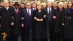 World Leaders March In Paris To Honor Terror Victims