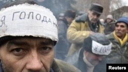 Голодування чорнобильців в Донецьку в 2011 році