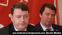 Слева направо: Алексей Лескин и Михаил Матвеев