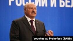 Аляксандар Лукашэнка ў Маскве