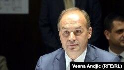 Косовскиот министер за надворешни работи, Енвер Хоџај.