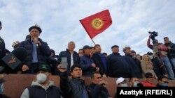 Бишкек. Ала-Тоо аянты. 2020-жылдын 9-октябры.