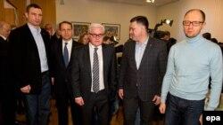 Глави польського та німецького МЗС і лідери української опозиції