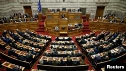 Архивска фотографија- парламентот на Грција