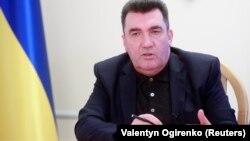 Олексиј Данилов, секретар на Советот за национална безбедност и одбрана на Украина