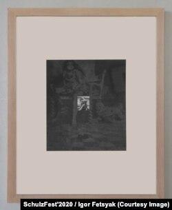 """Никита Кадан, из серии """"Искалеченный миф"""", 2020. Фото © SchulzFest'2020 / Ігор Фецяк"""