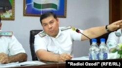 Бахтиёр Султон, начальник Управления Налогового комитета Таджикистана по Согдийской области