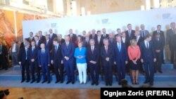 Balkanski lideri sa Anglelom Merkel u Beču