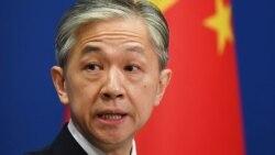 وانگ ونبین ، سخنگوی وزارت امور خارجه چین.