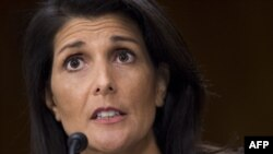 Nikki Haley, the U.S. ambassador to the United Nations