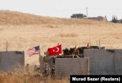 Trupat ushtarake amerikane dhe turke