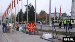Трет ден од протестите на професионалните војници на АРМ