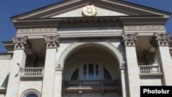 Armenia -- The presidential palace in Yerevan.