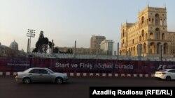 """""""Formula 1""""in start və finişi Azadlıq Meydanında olacaq- [Fotolar]"""