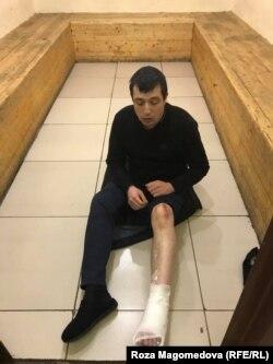 Равшан Раҳимов тергов изоляторида оёғи синган ва кўзи кўкарган ҳолатда топилган