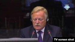 Richard Mole svjedoči na suđenju Karadžiću, 17.08.2010.