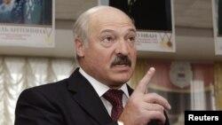 Раиси ҷумҳури Беларус Александр Лукашенко