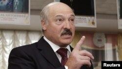 Bjeloruski predsjednik Aleksander Lukašenka, 2012.