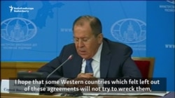 Lavrov 'Hopes' West Won't Wreck Syrian Cease-Fire