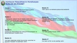 Azərbaycan Konstitutsiyası ilə vətəndaşın hüququ qorunmalıdır