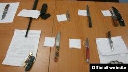 Оружје пронајдено при претреси на полицијата изминатите денови, најчесто кај малолетници.