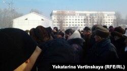 Митинг в Усолье-Сибирском, 28 ноября 2015 года
