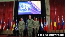 Ceremonija primopredaje komandne dužnosti u NATO Štabu Sarajevu