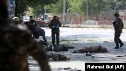 Кабулда шартлау, 30 апрель 2018