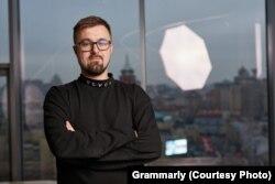 "Anatoliy Visikirskiy, a Grammarly ""people partner"" in Kyiv."