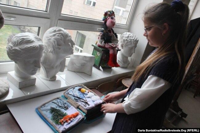 Сторінка про зиму, над якою працювала 11-річна дівчинка