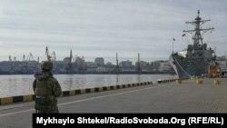 «Дональд Кук» стоятиме в порту Одеси з 25 до 27 лютого