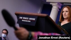 Пресс-секретарь Белого дома Джен Псаки.