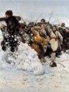 В. И. Суриков. Взятие снежного городка. 1891 г.