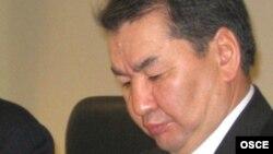 Кайрат Мами в бытность председателем Верховного суда Казахстана. Астана, 10 марта 2009 года.