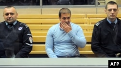 Darko Šarić u sudnici u Beogradu, 24. mart 2014.