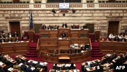 У парламенті Греції, архівне фото